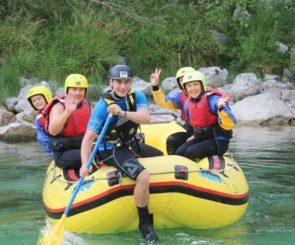 Rafting na Soči 2